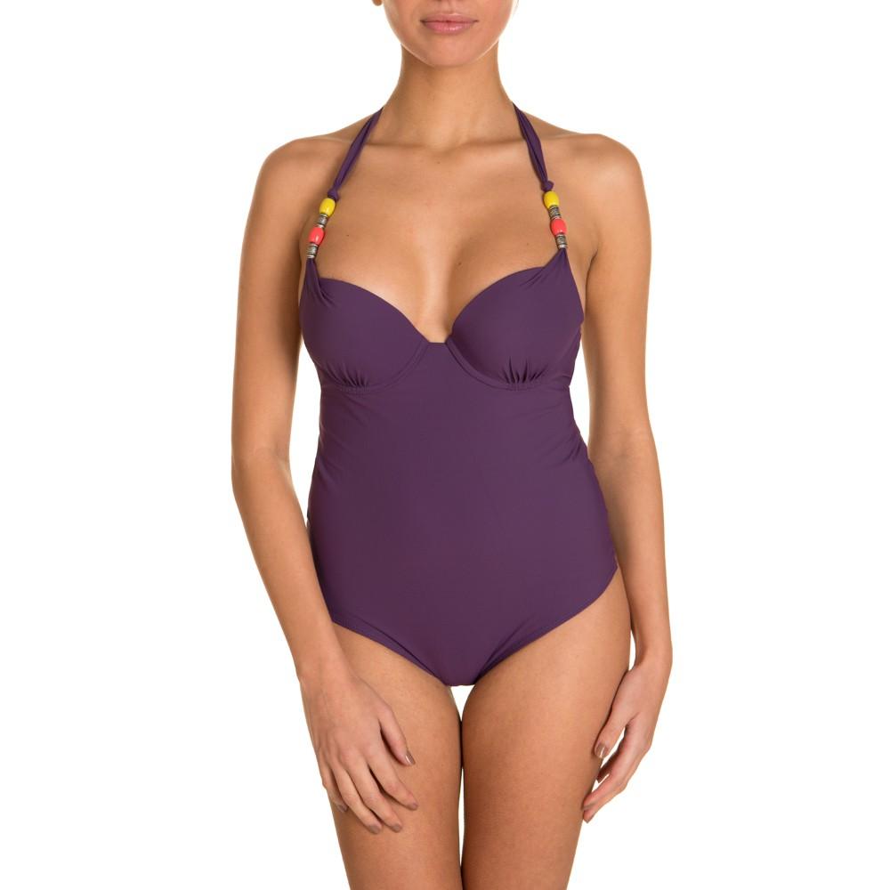 maillot de bain etam 1 pi ce pearl violet achat et vente. Black Bedroom Furniture Sets. Home Design Ideas