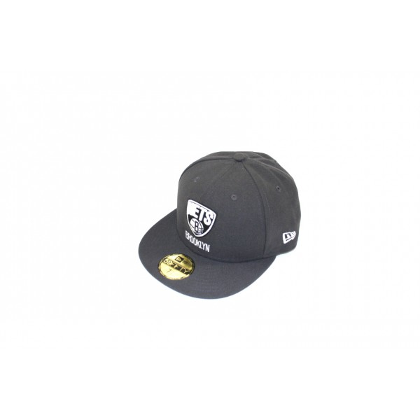 Casquette New Era 59FIFTY Brooklyn Nets - Gris