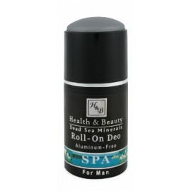 Mer Morte cosmétique - Health and Beauty Dead Sea Minerals - Déodorant à bille pour homme - 80 ml