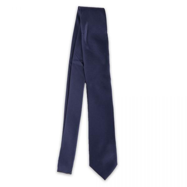 Cravate Manoukian - Bleu Marine