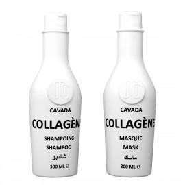 Kit Collagène - Shampoing + Masque Capillaire - 300ml x2