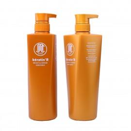 Kit Kératine R - Shampoing + Masque capillaire - 652ml x2
