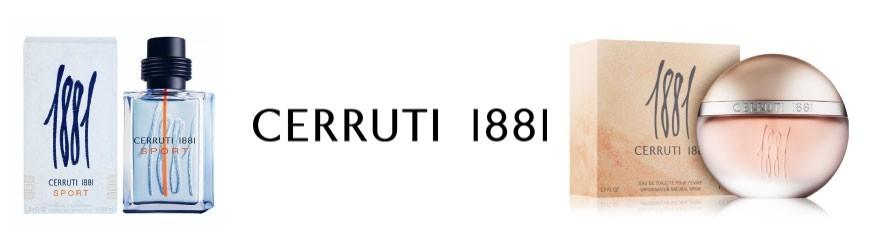 VENTE PARFUMERIE CERRUTI 1881